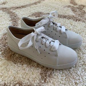 Vionic White Ribbon Sneakers